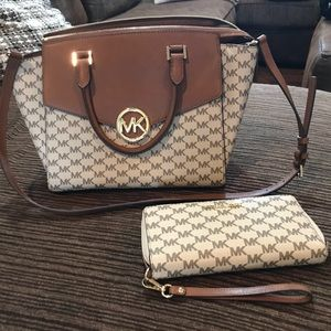 Michael Kors authentic purse and wallet